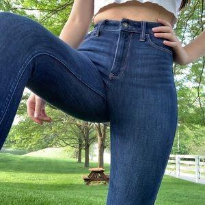 worn twice hollister jeans